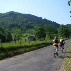 le Béarn à vélo - région autour de Pau 7J/6N