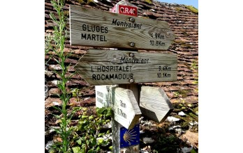 chemin de Rocamadour confort***8J/7N